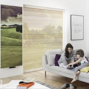 Grzejnik Invetio marki Instal Projekt wygląda jak piękny obraz zawieszony na ścianie. Fot. Instal Projekt.