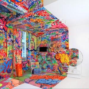 Panic Room zaprojektowanie przez grupę projektową Tilt. Proj.Tilt.Fot.Au Vieux Panier