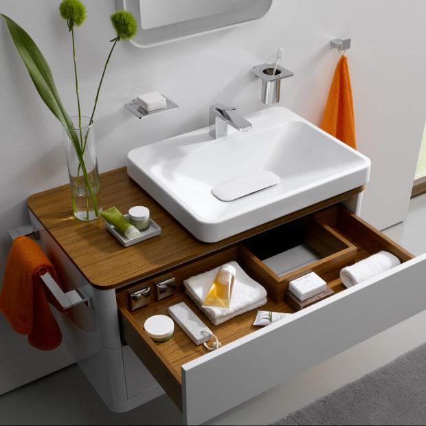 Wzorowy porządek w szufladach – zobacz 15 praktycznych szafek do łazienki