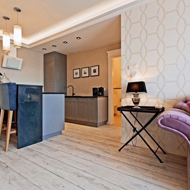 Mieszkanie inspirowane Francją: barokowy styl nad Motławą
