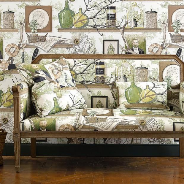 Żywe kolory i klasyczne wzory w nowej kolekcji tkanin i tapet