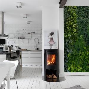 Tapeta z kolekcji Captured Reality marki MR Perswall. Oryginalna i intrygująca. Doskonale imituje naturalne rośliny. Piękny zielony kolor ładnie ożywia wnętrze.