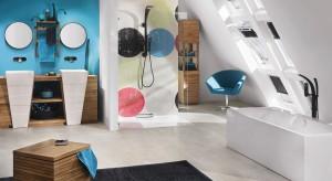 Stylowa aranżacja opiera się przede wszystkim na wyrazistym kolorze. W łazience idealnie sprawdzą się odcienie niebieskiego, który kojarzy się ze świeżym, morskim powiewem.