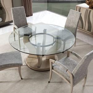Okrągły stół z kolekcji Artisan marki Mobil Frenso. Fot. Mobil Frenso.