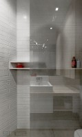 półka przy prysznicu