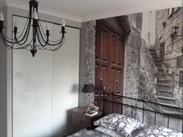 Apartament w Międzyzdrojach - sypialnia.