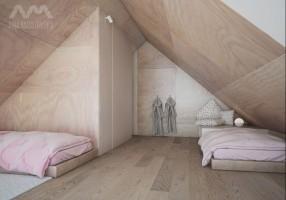 Dom pod Białymstokiem - pokój dzieci.