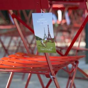 Krzesło Bistro - detal. Fot. Fermob.