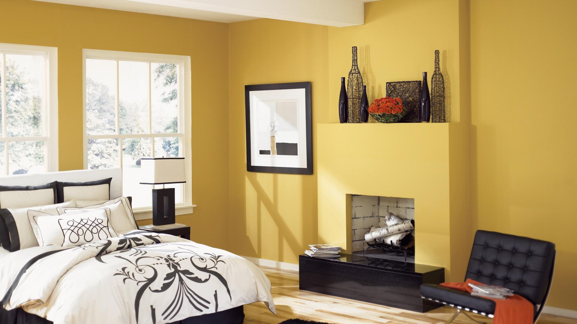 Pomysł Na Sypialnię Kolorowe ściany Zobacz 15 Aranżacji
