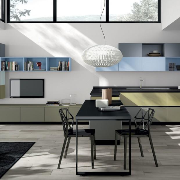Jak urządzić salon i kuchnię w jednym pomieszczeniu?