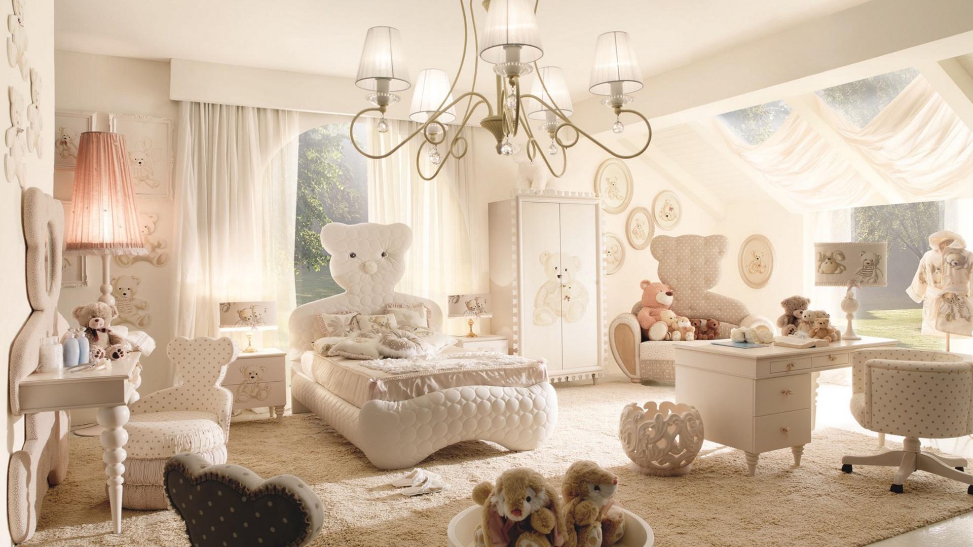 Wszechobecny motyw misia sprawia, że pokój dziecka jest nie tylko oryginalny, ale i bardzo przytulny. Fot. Fabio Luciani.