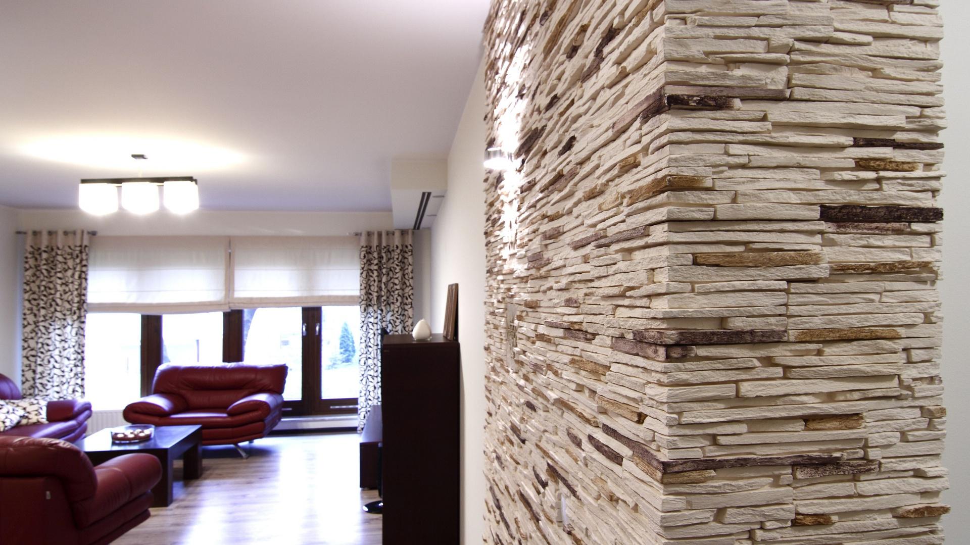 Kamień Dekoracyjny Na ścianie Zobacz Pomysł Na ścianę