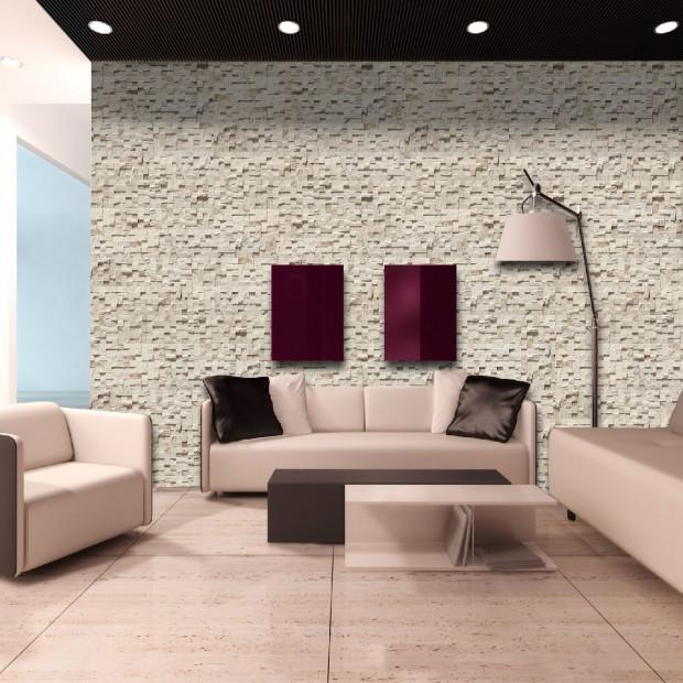 Kamień dekoracyjny na ścianie: zobacz pomysł na ścianę
