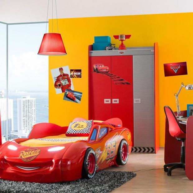 Samochodowy pokój. Każdy chłopiec chciałby mieć taki!
