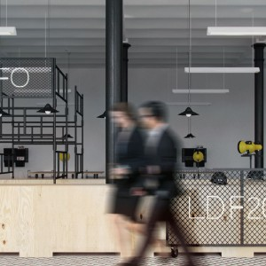 Projekt aranżacji wg pracowni Oshi. Fot. Łódź Design Festival.