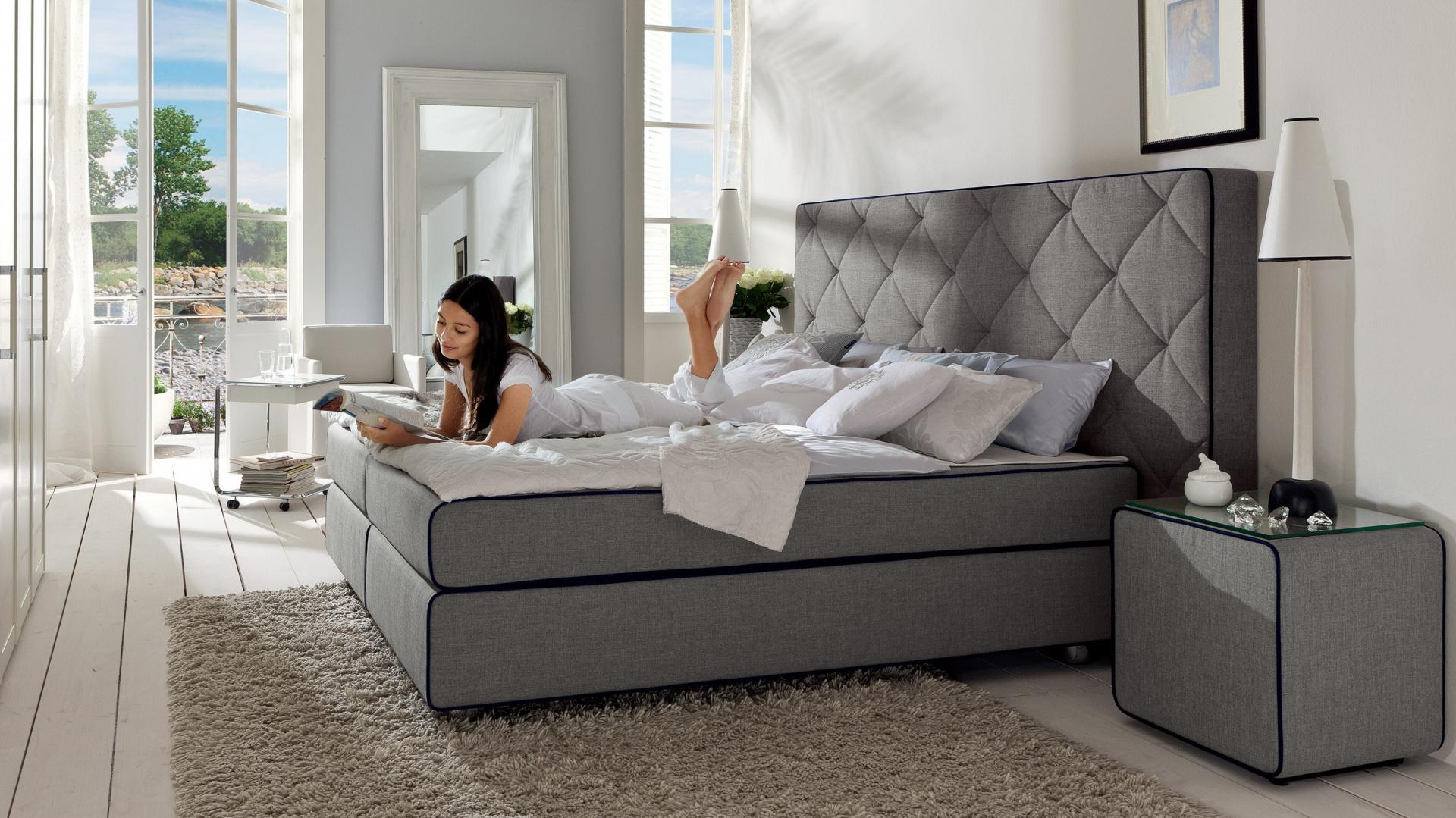 Pikowany Tapicerowany Zagłówek 12 Modnych łóżek