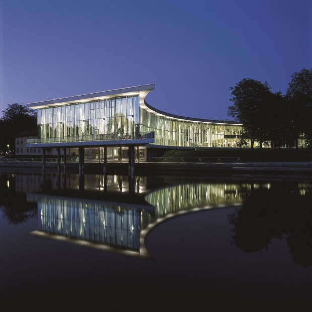 Wiedza z natury. Biblioteka w Halmstad