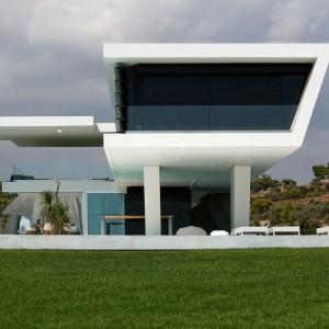 Nowoczesny, minimalistyczny budynek autorstwa studia 314 Architecture Studio. Fot. 314 Architecture Studio.