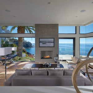 Rezydencja Rockledge znajduje się w Kalifornii. Zaprojektowało ją studio Horst Architects. Fot. Horst Architects.