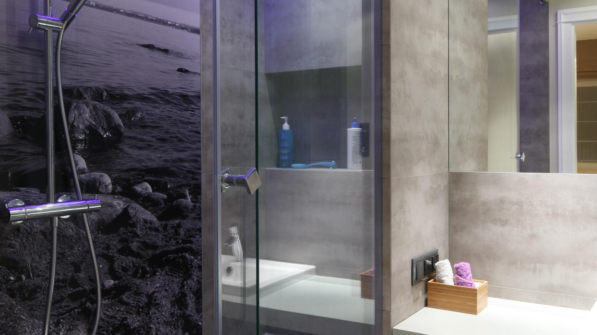 Fototapeta W łazience Modny Pomysł Na Dekorację ściany
