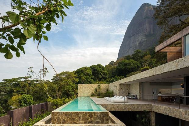 Nowoczesny dom w Rio de Janeiro. Rezydencja marzeń?