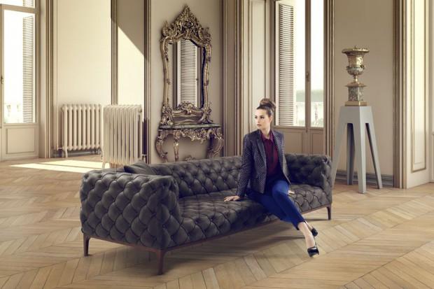 20 pikowanych sof. Modne modele do każdego wnętrza