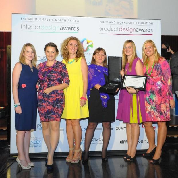 Laureaci konkursów Index Interior Design Show 2014 w Dubaju