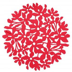 Filcowa podkładka Flower Power marki Boogie  Design. Fot. Boogie Design.