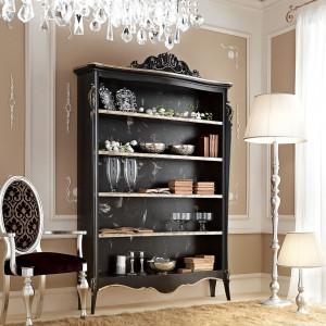 Dekoracyjny regał z serii Gotha Italian Luxury Style. Fot. Fabio Luciani.