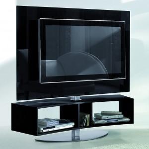Szafka telewizyjna Odeon włoskiej marki Antonello. Fot. Ebano Design.