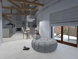 Projekt domu jednorodzinnego w Żółwinie.