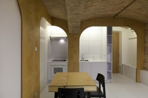 Nowoczesne mieszkanie z zaprojektowanymi wszystkimi strefami użytkowymi.