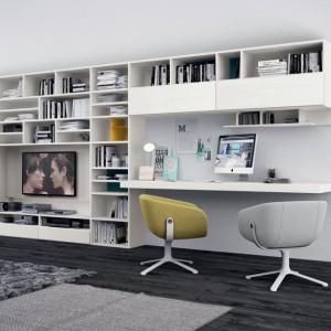 Praktyczny mebel umożliwiający pracę w salonie. Fot. Colombini Casa.