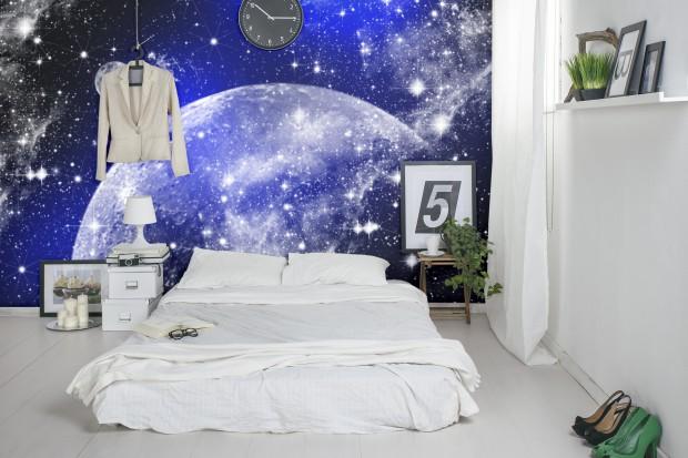 Wyjątkowe inspiracje do sypialni: niebo, gwiazdy, chmury