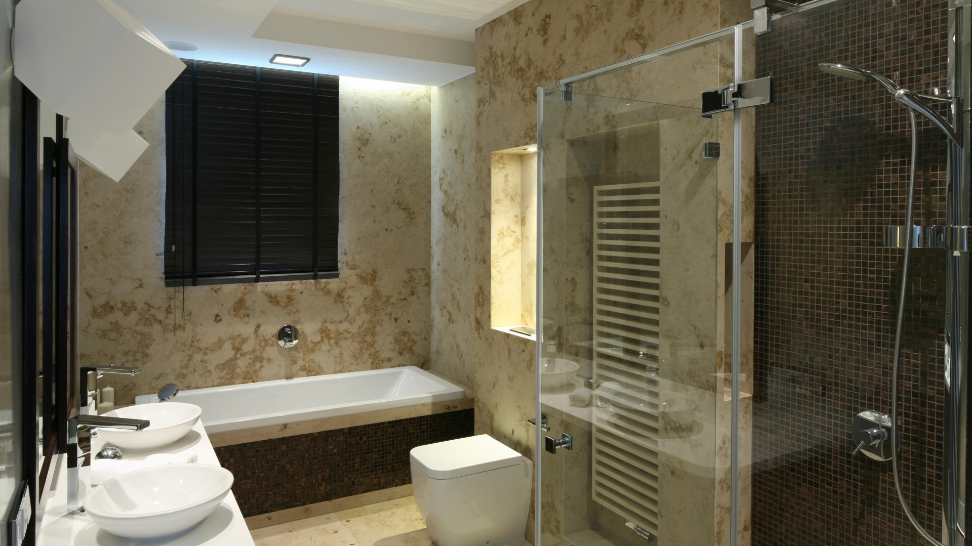 Ciepłe Beże I Jasne Brązy 15 Pomysłów Na ścianę W łazience