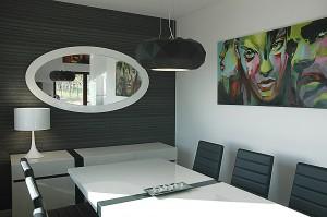 Prywatny dom stanowiący oazę spokoju oraz idealną kontynuację otaczającej go zieleni. Projekt autorstwa pracowni Monochromo.