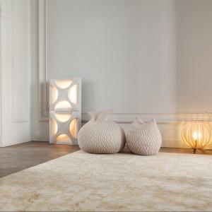 Melanżowy dywan z serii Aria marki Casalis. Fot. Casalis.