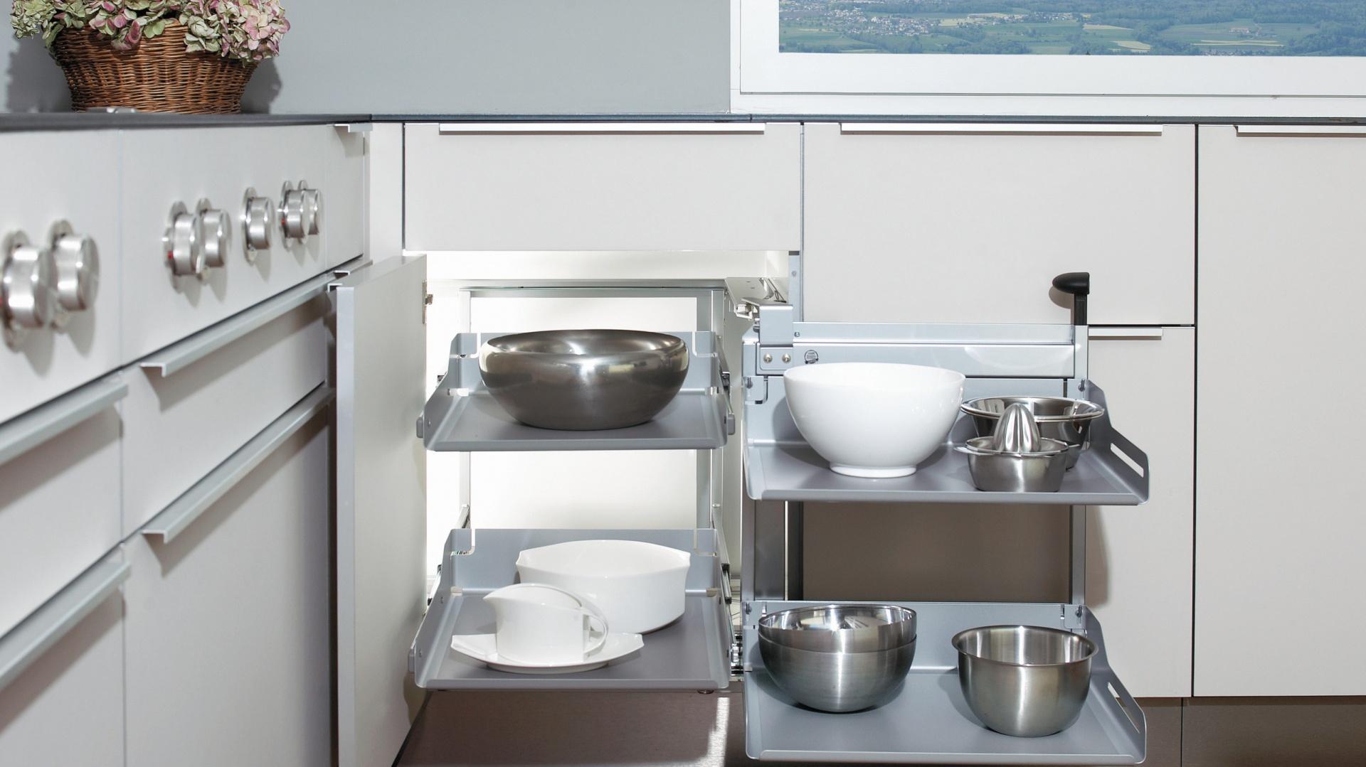 System Magic-Corner Comfort...  Przechowywanie w kuchni. Pomysły na szafki narożne  Strona: 7
