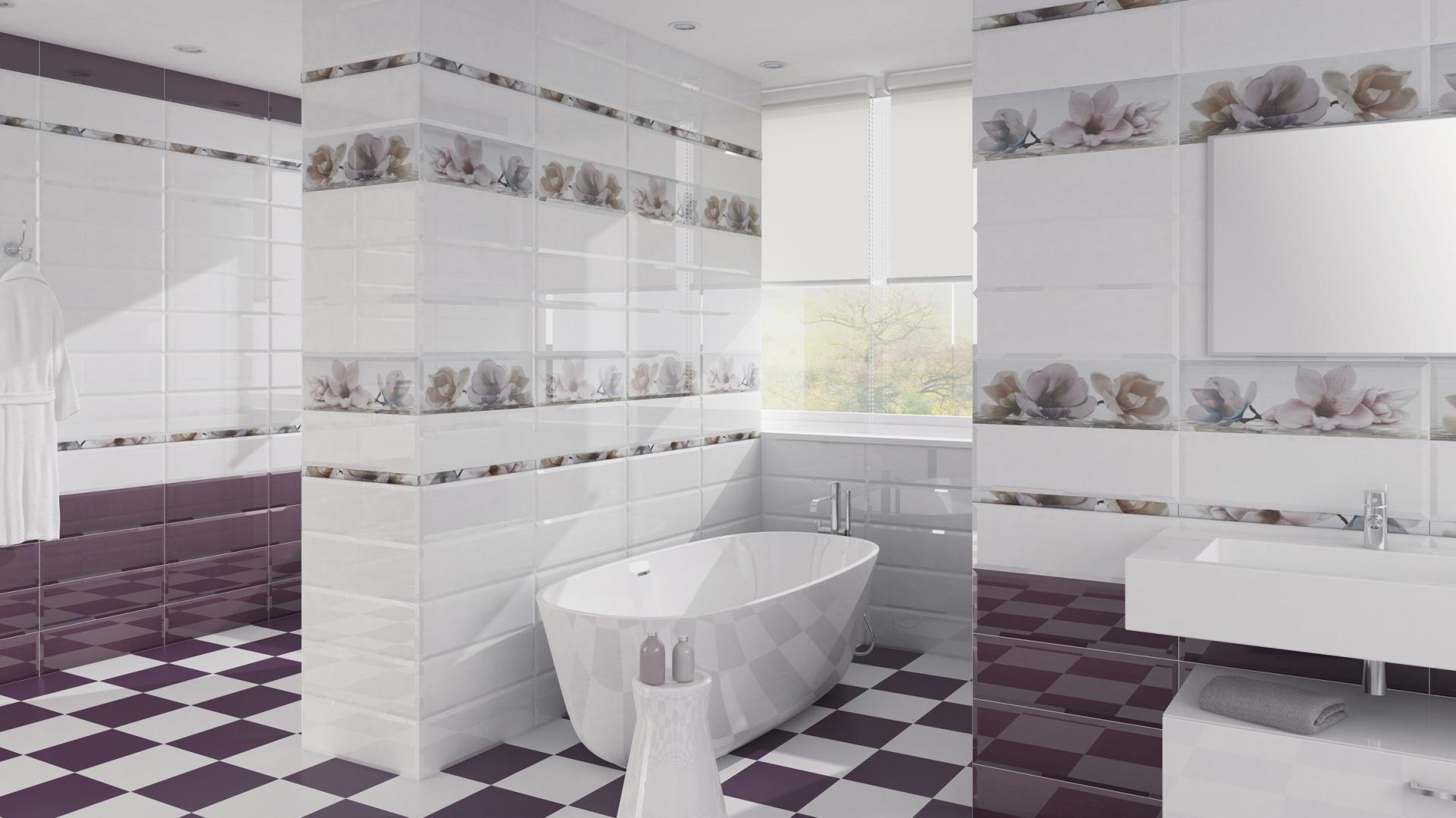 Płytki W łazience Pomysły Na Dekoracje ściany