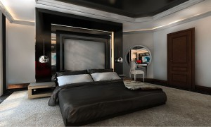 Apartament prywatny - sypialnia.