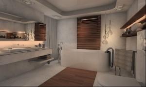 Dom jednorodzinny w Saint Tropez - łazienka.