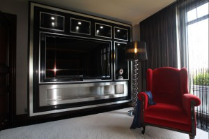 Apartament prywatny - sypialnia, realizacja.