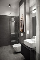 Kawalerka mniej niż 19 m2 - łazienka.