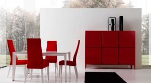 Krzesła mogą być towarzystwem dla stołu w salonie lub autonomicznym siedziskiem ustawionym, np. przy ścianie. W galerii zdjęć pokazujemy w jaki sposób ten mebel może prezentować się w pokoju dziennym.