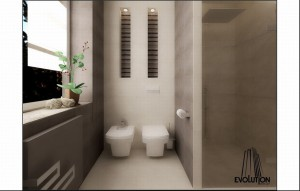 Dom w Mniszku - łazienka.