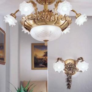 Dekoracyjny kinkiet z kolekcji Floreale. Fot. Possoni.