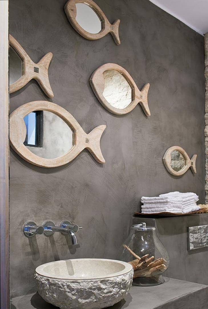 Lustra - rybki w drewnianej oprawie z oferty marki Riviera Maison to oryginalny