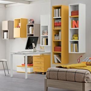 Pomysł na pokój dla nastolatki w słonecznym kolorze. Fot. Colombini Casa.