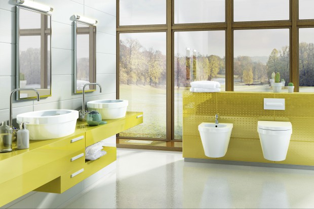 Kolorowe meble w łazience. 12 pomysłów prosto z polskich sklepów
