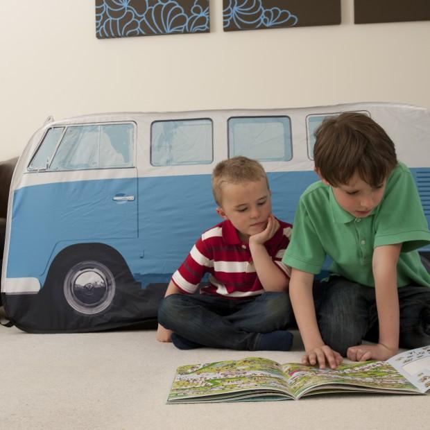 Wesoły autobus zainspiruje dzieci do zabawy